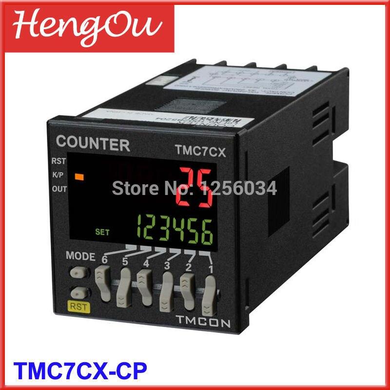 1 piece TMC7CX intelligent digital counter TMC7CX CP Electronic counter
