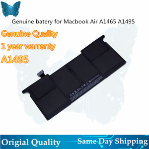 Image 1 - GIAUSA Genuine  A1406 A1495 Battery for macbook Air 11inch A1465 battery 7.6V 38.75Wh Mid 2012 2013 Early 2014 A1370 Mid 2011 M