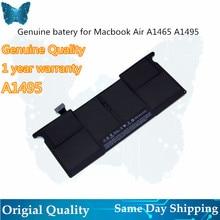 GIAUSA véritable A1406 A1495 batterie pour macbook Air 11inch A1465 batterie 7.6V 38.75Wh mi 2012 2013 début 2014 A1370 mi 2011 M