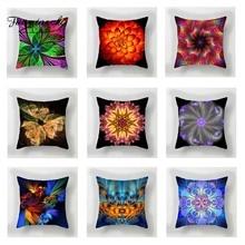 Fuwatacchi 3d Geometric Cushion Cover Mandala   Soft Throw Pillow Cover Decorative Sofa Pillow Case Pillowcase цены