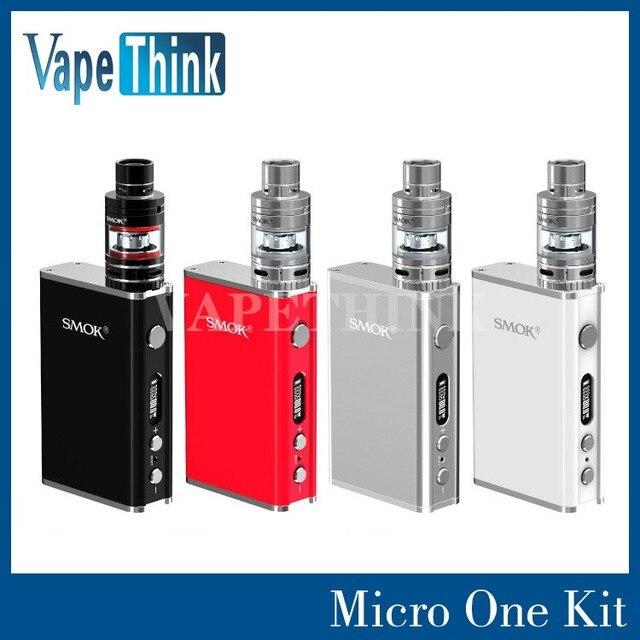 Фондовый Smoktech Micro Один полный Комплект с 80 Вт R80 ТК Box Mod Микро TFV4 Танк smok R80 micro один комплект