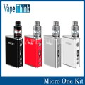 Stock Smoktech Micro Un Kit completo con 80 w Caja Mod smok Micro Tanque TFV4 R80 R80 TC micro uno kit