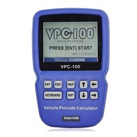 Quality A+++ VPC 100 Hand held Vehicle PinCode Calculator Supported 30 Models With 500 Tokens VPC 100 Key Programmer