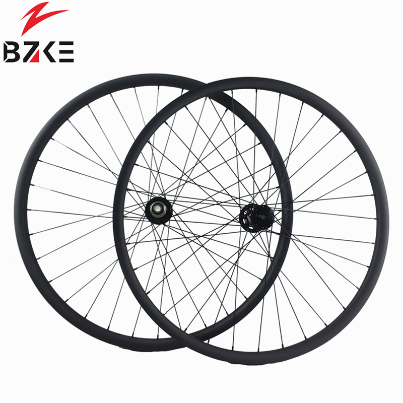 BZKE carbon mtb wheels 29 inch 36mm width carbon wheels mtb boost novatec hubs carbon mountain