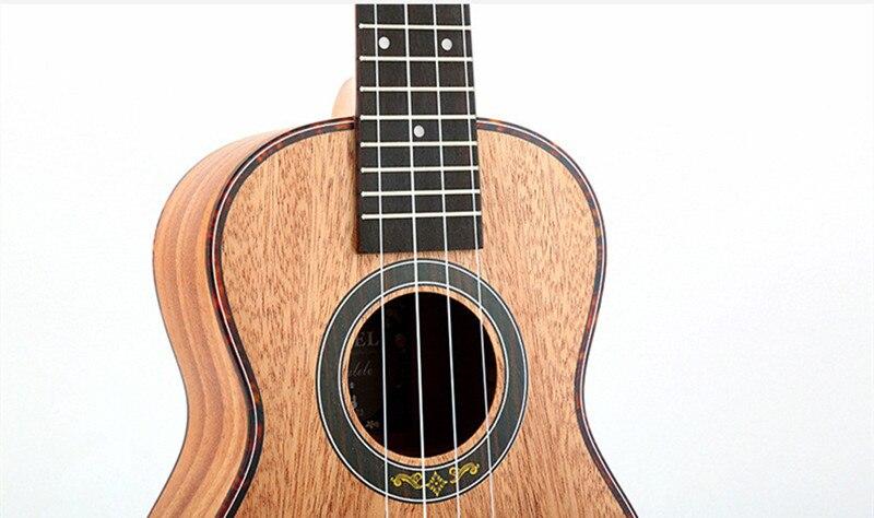 23 pouces ukulélé Concert Soprano Ukelele Mini guitare acoustique électrique Ukelele Guitarra instruments à cordes y-09/23 - 6