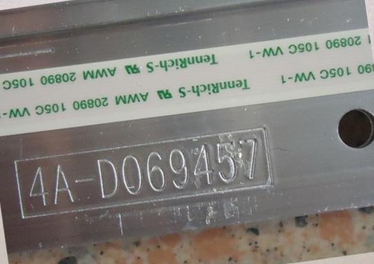 L39E5000-3D LED 4A-D069457 V390HK1-LS5 1piece=48LED 495MM