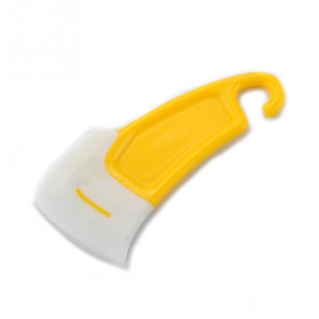 1pc  New Silicone Cleaning Brushes Non-Stick Oil Scraper Brush Pot Tools Kitchen Cleaning Brush Cooking Tools
