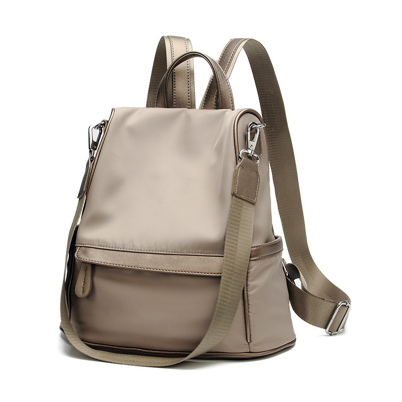 Genuine Leather Backpack Large Capacity Rivet Shoulder Bag Women Casual Backpack Teenage Girls School Travel Bags female C496 lem htr200 sb sp1 used in good condition with free dhl ems