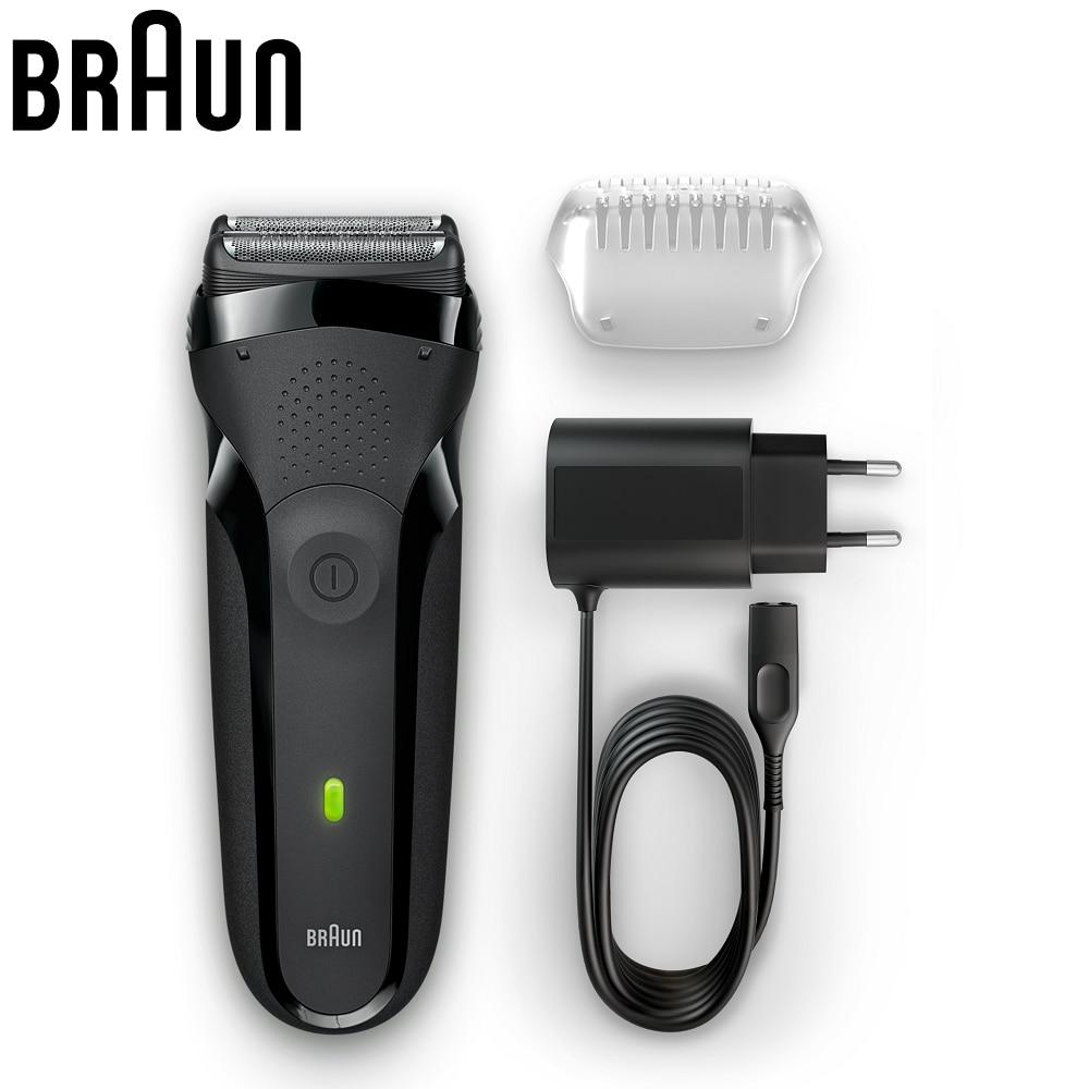 Braun Series 3 300 s Wet Dry Electric Razor Men Rechargeable 100 V 240 V 120