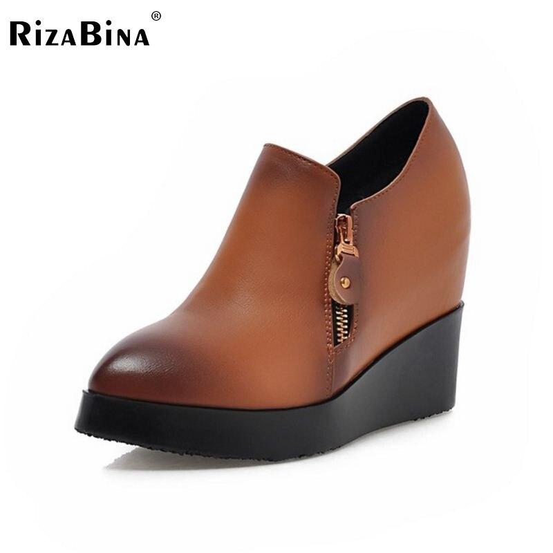ФОТО women wedges high heel shoes platform lady casual lady sexy brand female fashion heeled pumps heels shoes size 34-39 P16882