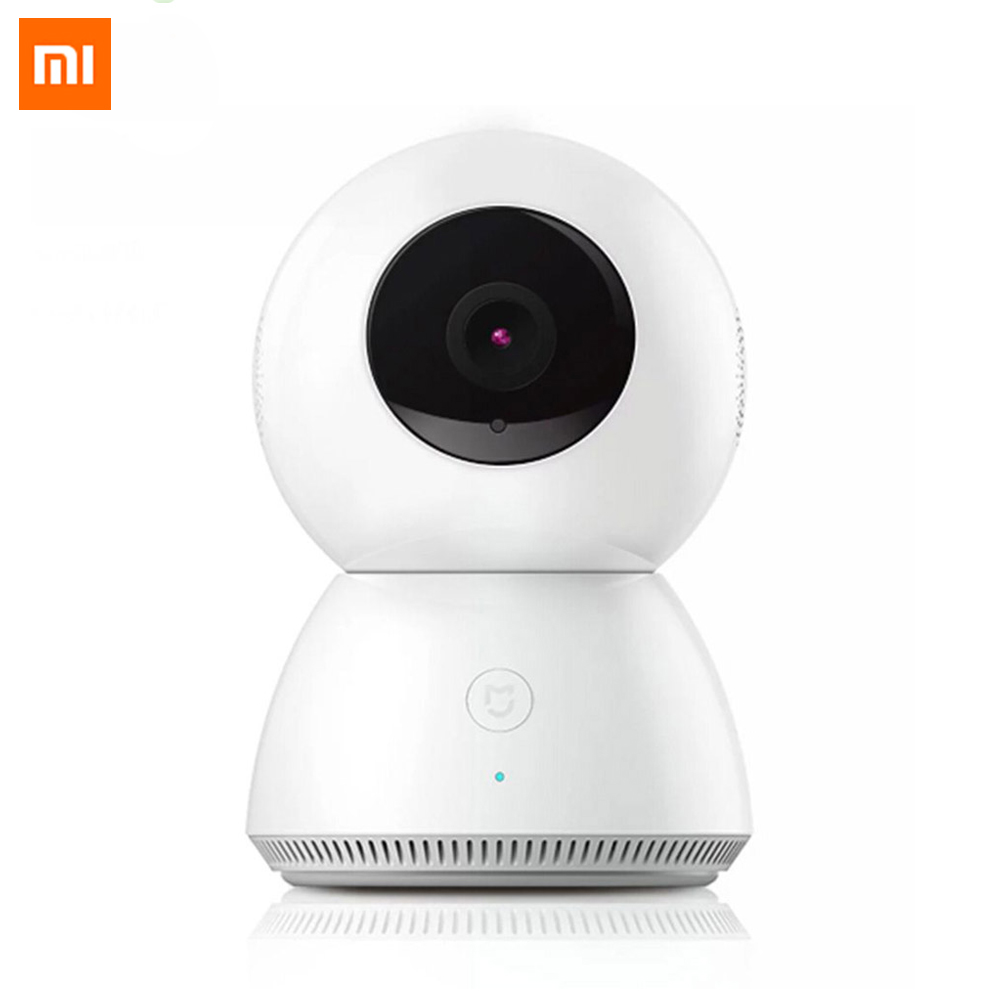 Prix pour D'origine xiaomi mijia smart caméra night vision webcam ip caméra caméscope 360 angle panoramique wifi sans fil 1080 p magie zoom 4