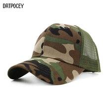 Nuevo Camo de malla gorra de béisbol de las mujeres de los hombres del  casquillo del Snapback Hip Hop papá sombreros de verano h. c7315146300