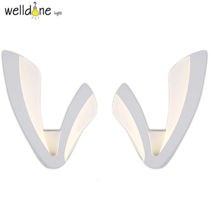Led Modern Wall Lamp Acrylic Sconce AC90-260V Wandlamp For Bedroom Bathroom Applique Murale Luminaire Mirror Wall Light Fixtures fabic shade nordic modern led wall lamp for home bedroom stair light wall sconce applique murale luminaire wandlamp
