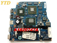 Original For SONY VPCSA MBX 237 Motherboards And CPU fan heatsink A182747A I7 2620M 4G HD6630M 1G Tested good