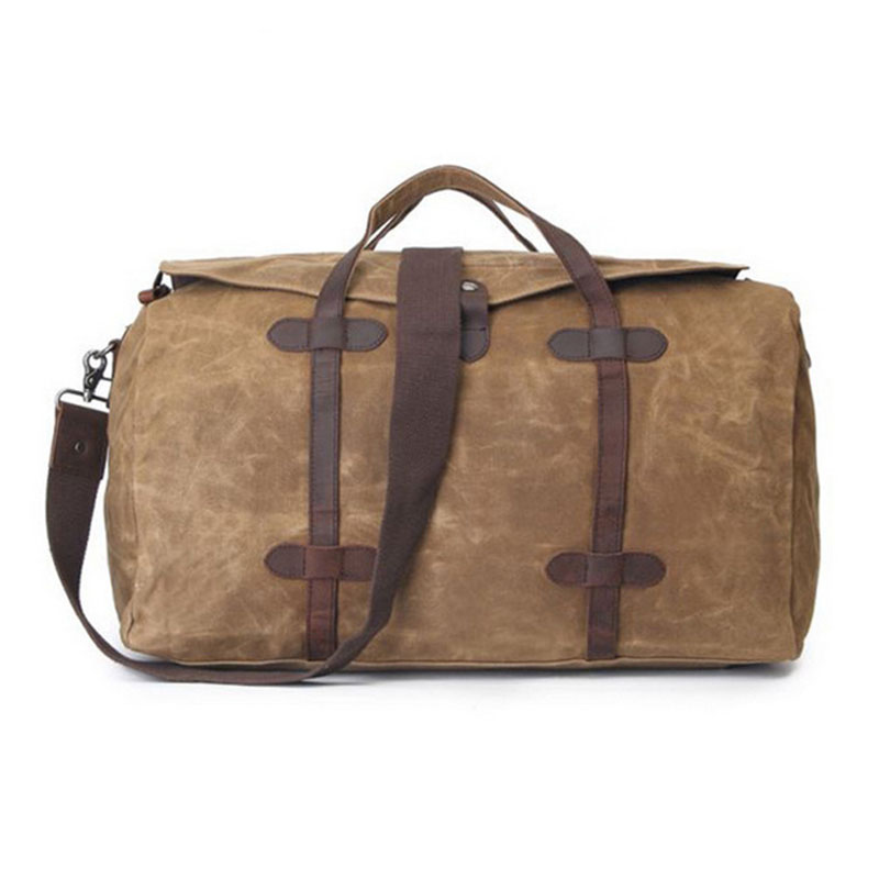 Casual Large Capacity Vintage Canvas Men Big Tote Waterproof Travel Bag Fashion Handbag Canvas Crossbody Bag & Shoulder Bag G069 vintage canvas chest bag men new crossbody shoulder bag multifunction casual travel bag fashion large capacity chest bag for men