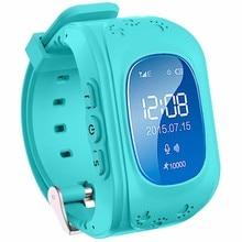 Smart watch kinder q 50 anti verlieren gps tracker smartwatch für jungen sos notfall bluetooth für iphone android samsung telefon Q50