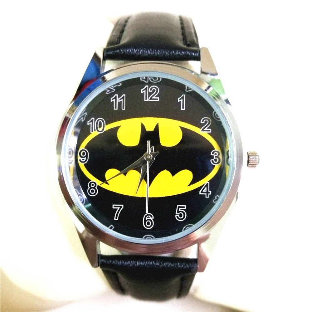 US $3.34 33% di SCONTO Nuovo Batman Quarzo di sport dei bambini cartoon orologi da polso uomini per il ragazzo studenti regalo di natale montre enfant