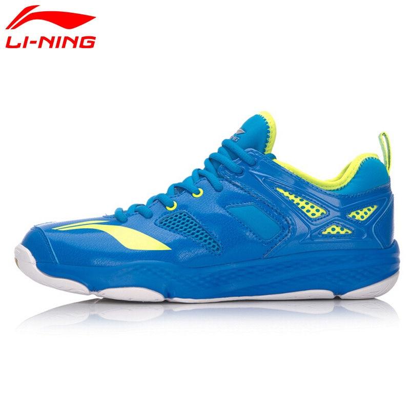 Li-Ning  Original Men's Cloud Badminton Training Shoes TUFF RB Breathable LiNing Sports Shoes Sneakers AYTM019 original li ning men professional basketball shoes
