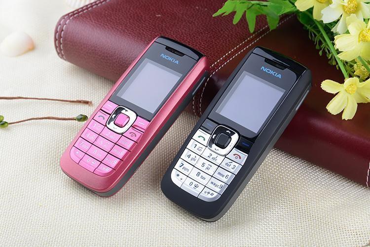 Refurbished Original Unlocked Nokia 2610 the Cheapest multi-language Cellphone white 8