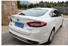 ABS car Spoilers tailplane sports big tailplane water pipe Primer Unpainted wing for Ford Fusion 2013 2014