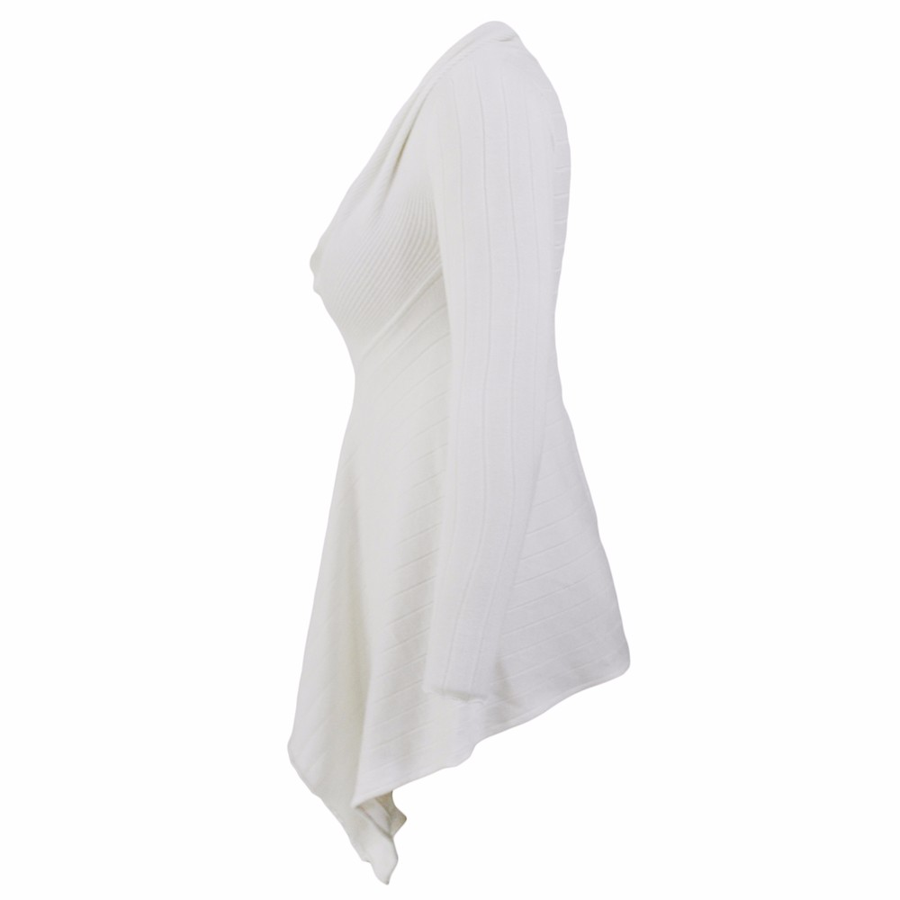 White-Irregular-Hemline-Cowl-Neck-Sweater-LC27631-1-3