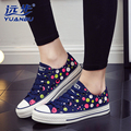 New Women Flats Canvas Shoes Female Spring Summer Students Shoes Fashion Low To Help With Round Dot Casual Shoes B2726