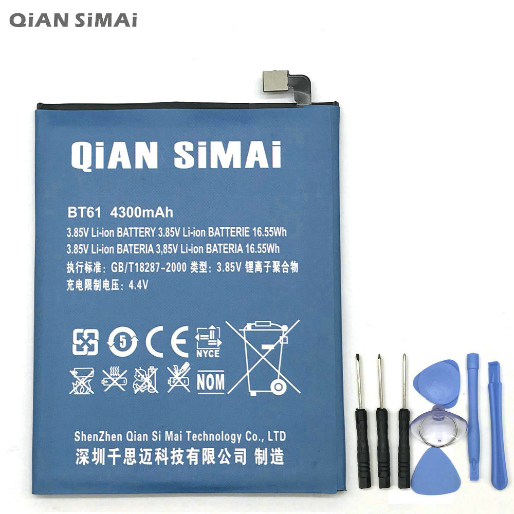 QiAN SiMAi High Quality BT61 Battery with tools For Meizu M3 note L681H L-version Mobile phone