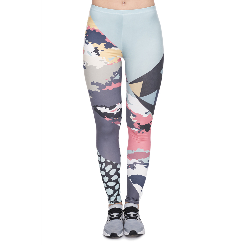 New Leggins Mujer Modern Camo Printing Legging Sexy Feminina Leggins Fitness Woman Pants Workout Leggings