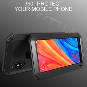Image 4 - Love Mei Metal Case For Xiaomi Mi 6 8 9 Max 2 Max 3 MIX 2 MIX 2S Shockproof Phone Cover For Xiaomi 9 Rugged Anti Fall Armor Case