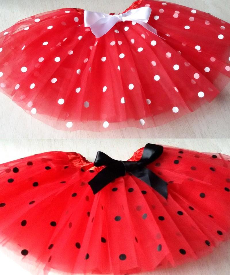 4ac038cce € 178.64 |Halloween Tutu rojo blanco y negro falda del tutú Niñas danza del  tutú de pettiskirt en Faldas de Mamá y bebé en AliExpress.com | ...
