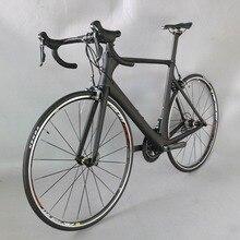 Tantan factory 700C Carbon Fiber Road Bike Complete Bicycle Carbon Cycling BICICLETTA Road Bike SHIMAN 4700 20 Speed Bicicleta
