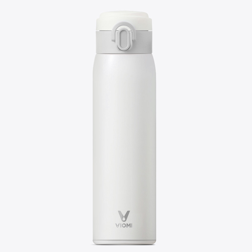 Original Xiaomi Mijia VIOMI 460ml Thermos Cups Stainless Steel Vacuum Insulated Mug Sealed Water Bottle 24 Hours Single Hand ON цены