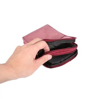 Odkryty talii pasa etui portfel telefon skrzynki pokrywa torba dla Highscreen łatwe L łatwy L Pro moc Ice Max ice Evo pięć Max wściekłość Evo tanie i dobre opinie 17 5*12*3 cm Waist Belt Bag linccdc Z Kieszeni Karty Anti-knock Odporna na brud Zwykły Sport vintage Pokrowiec