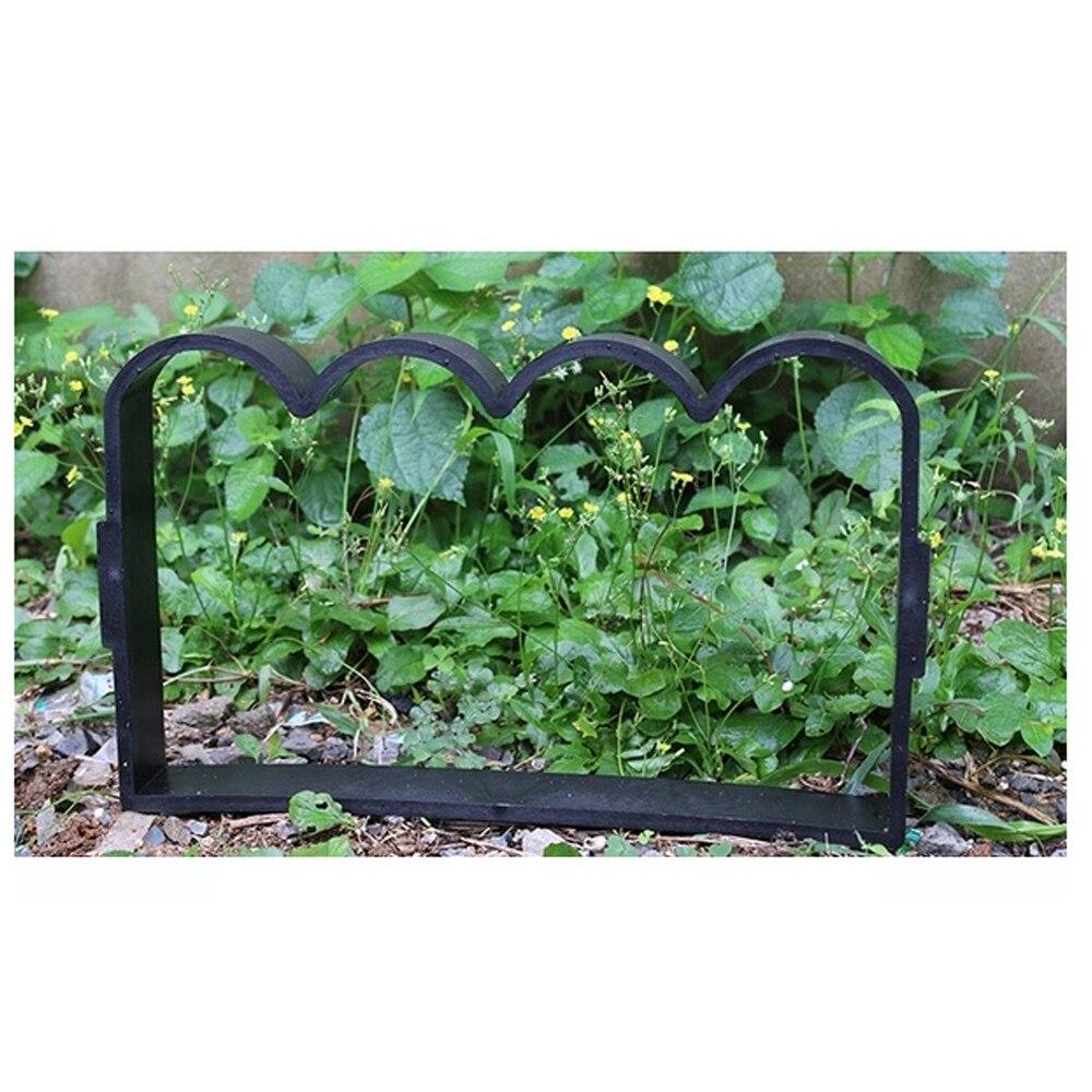 Riginality Path Maker Плесень пластиковая садовая тротуарная пресс-форма для цемента Прямая