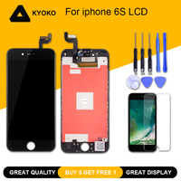 Grade AAA 4.7 inch LCD For iPhone 6S Display Touch Screen With Digitizer Assembly Replacement Repair Parts A1633 A1688 A1700