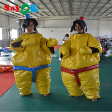 PVC fighting inflatable sumo suits for adults/sumo wrestling suits for sale(2sets)(China)
