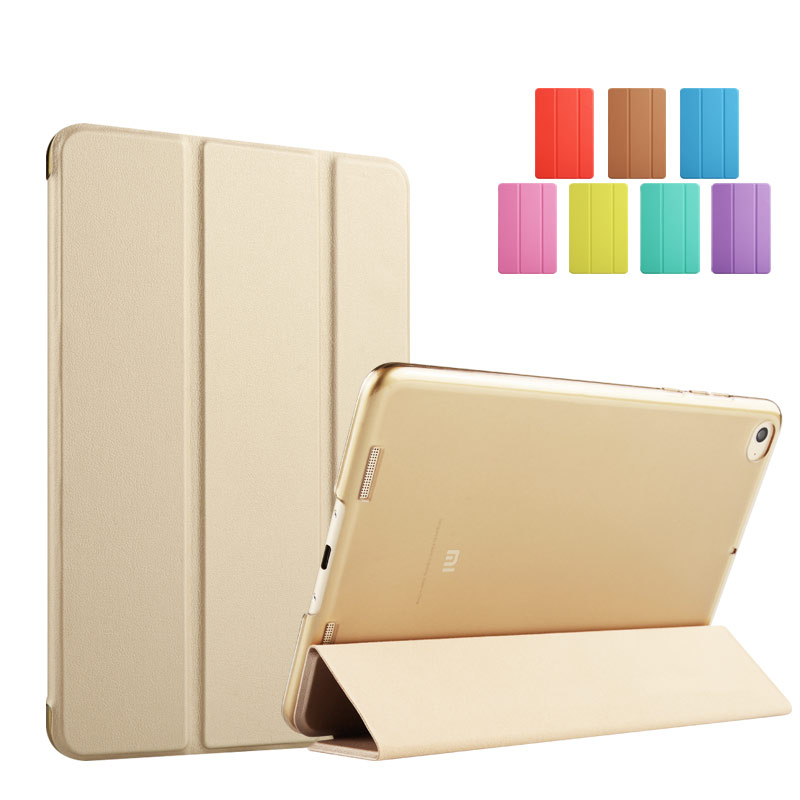 Flip PU stand leather cover for mi pad 2 case kenke luxury for Xiaomi mipad 2 7.9inch smart case for new xiaomi mi pad 3 case