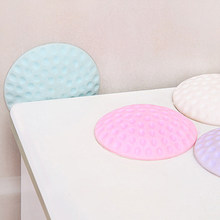 Wall Knob Mat Safety Protection Stickers 1 Pc Door Handle Wall Crash Pads Thickening Mute Golf Modelling Rubber Protective Pad(China)