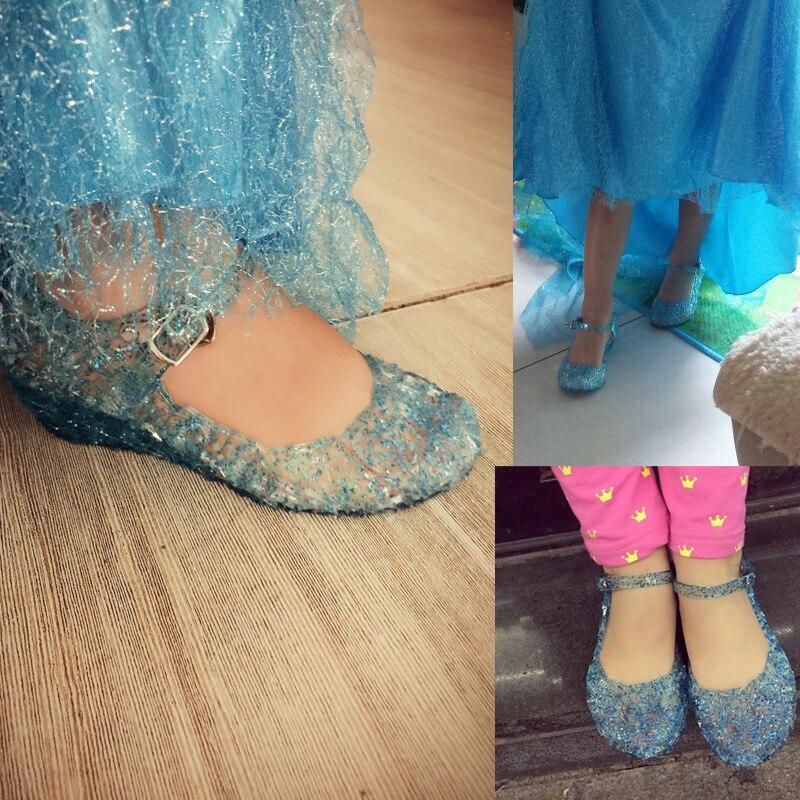 baby schoenen meisjes sandalen anna & elsa 2018 Nieuwe kinderen baby - Kinderschoenen - Foto 3