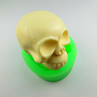 Free Shipping Modelling Of The Skull Soap Mold Silicone Soap Mold High Quality Modelling Mould Handmade