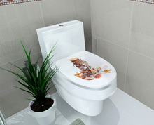 Toilet Seat 3D Decal