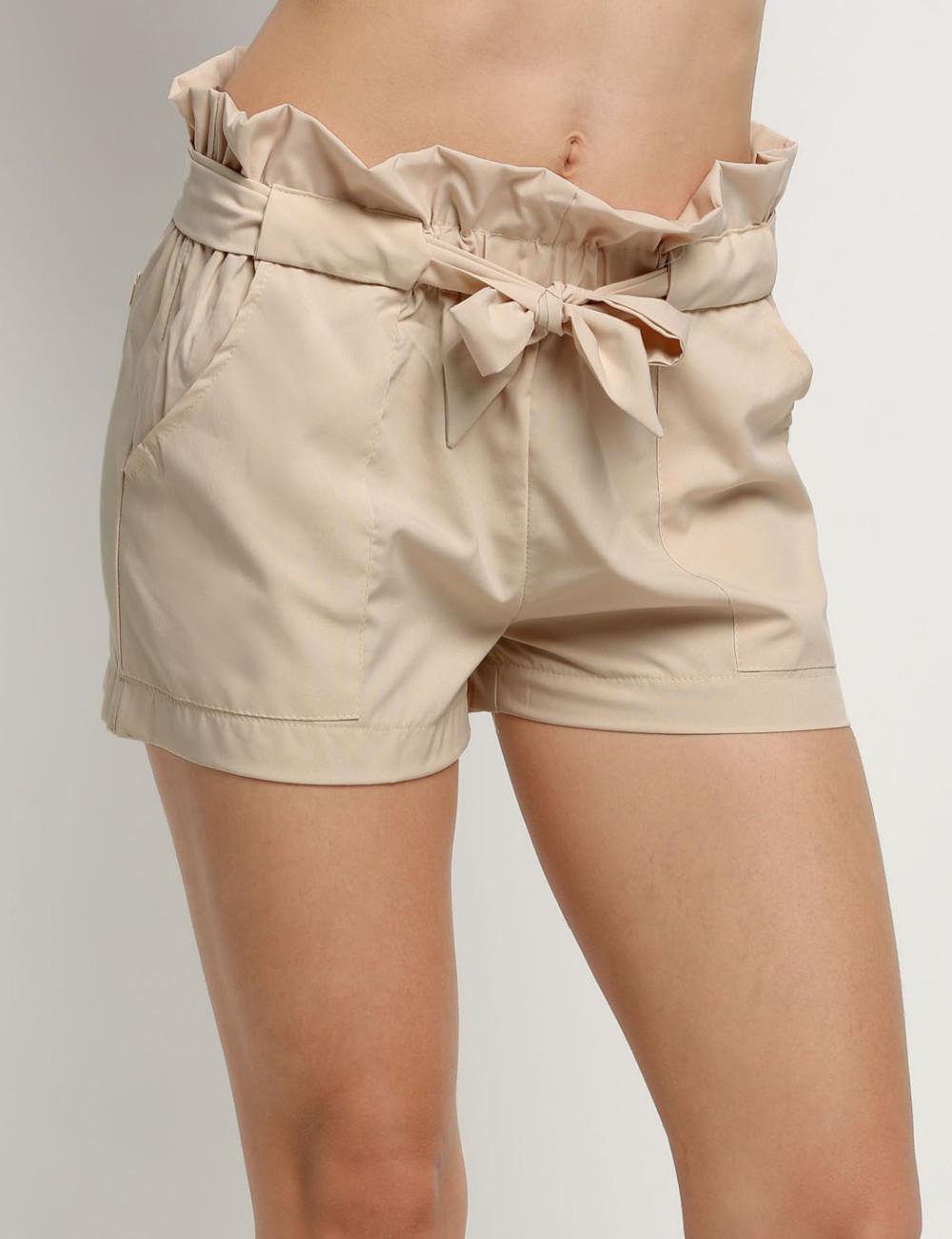 HTB11OZONFXXXXb4XpXXq6xXFXXXU - High Waist Shorts Loose Shorts With Belt Woman PTC 59