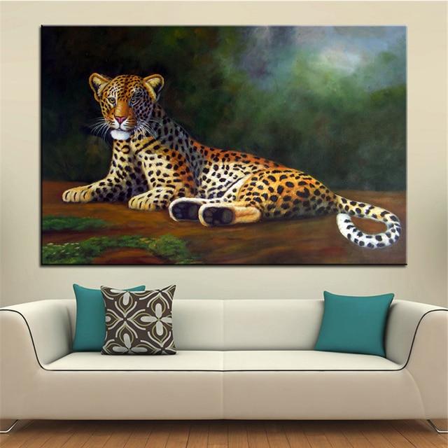 Wall Art, Wall Decor, Wall Painting American cheetah Digital oil ...