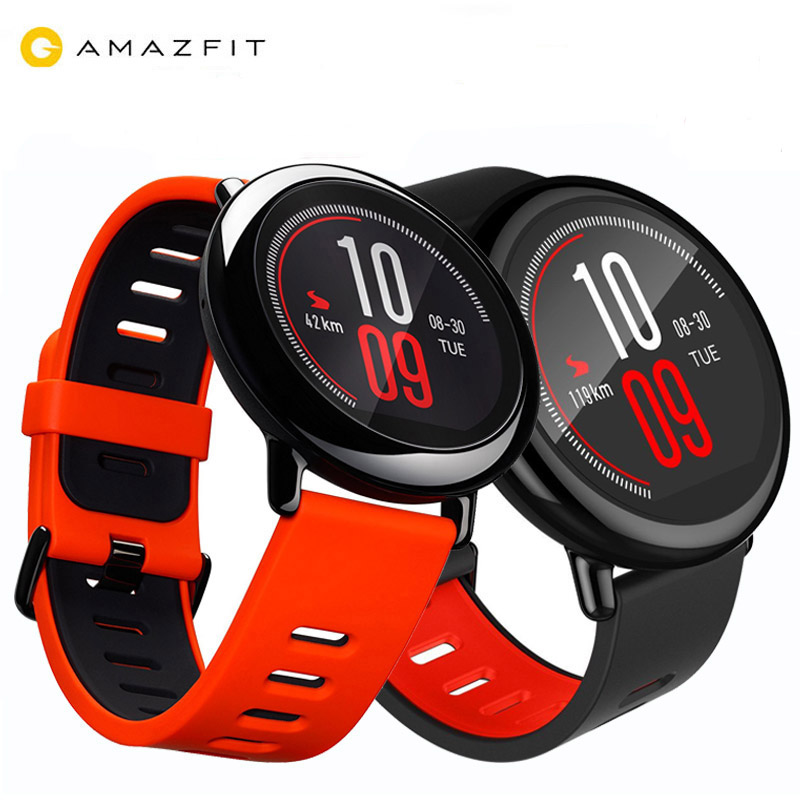 [GLOBAL VERSION]Original Xiaomi Huami AMAZFIT Pace Smart Watch 4GB GPS Heart Rate Monitor BT4.0 Touch Screen Sports Watch Men