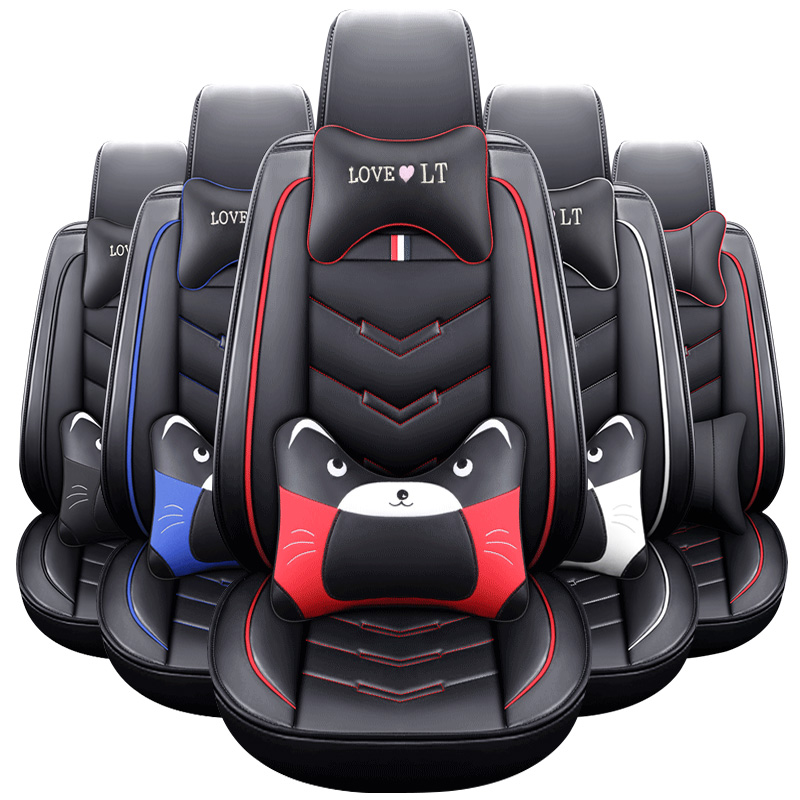Car-Seat-Covers Fit Most-Accessories Universal Car-Styling New Cartoon