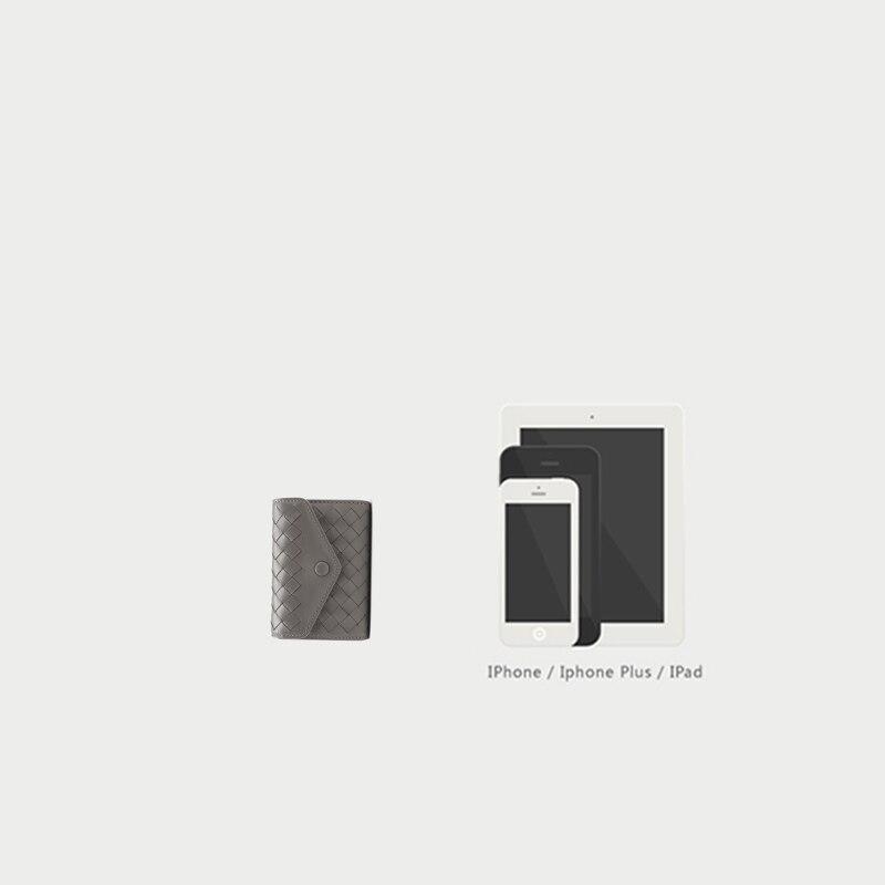 Купить с кэшбэком KAVYAVOGUE New Designer Genuine Leather Sheepskin Leather Bag Men and Women's Card Holder Bank Card Case Card Wallet Organizer