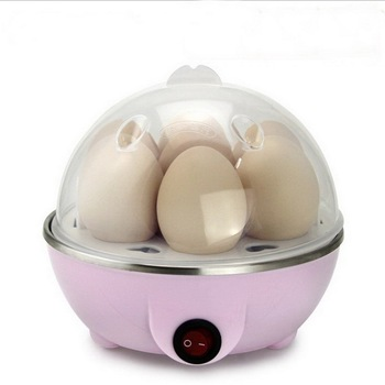 Multi-function Electric Egg Cooker Boiler Stainless Steel Steamer