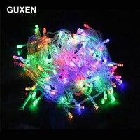 10M 20M 30M 50M cuerdas de iluminación de Navidad iluminación al aire libre luces festivas RGB/blanco cálido/Blanco/azul/rojo/Verde/púrpura color
