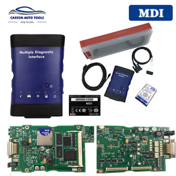 Best for G-M MDI Multiple Diagnostic Interface MDI SQU WIFI card Multi-Language obd2 diagnosis Scanner with Software HDD