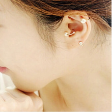 pearl no pierced earcuff clip on earrings gothic ear cuffs for women orecchini wraps cuff hole